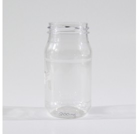 PET-Flasche 300 ml zylindrische Modell bl