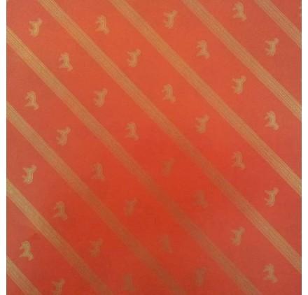 papel de embrulho liso vermelho cavalos