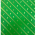 Plain inslagning papper grön golden hästar