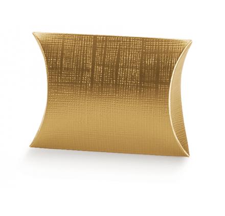 Caixa Cartolina Busta 70x70x25mm Seta Oro