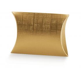 Caixa Cartolina Busta 100x100x35mm Seta Oro