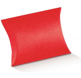 Caixa Cartolina Busta 140x130x40mm Seta Rosso