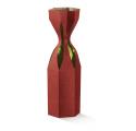 Freccia scatola bordeaux saccolo 1 bottiglia