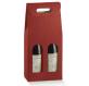 2 Karte Box Pfeil Bordeaux Flaschen