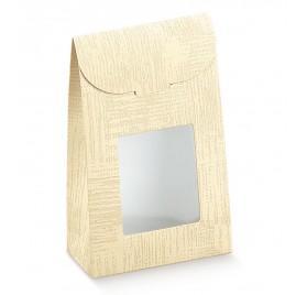 Saco com janela 90x45x130mm Tela Neutro