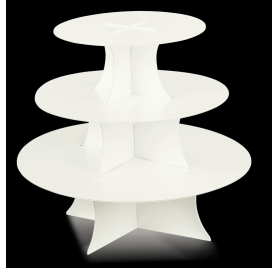 Torre perlato para brindes simples 3 planos