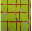papir lysegrøn almindeligt indpakning sølv pletter