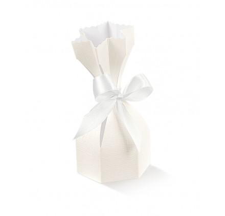 Caixa seta bianco saccolo 60x h 120mm