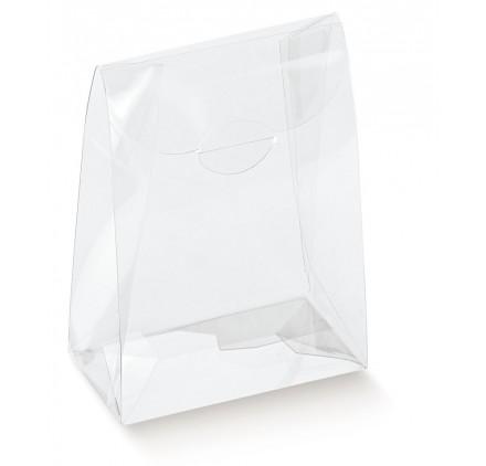 Caixa acetato transparente sacchetto 70x40x85mm
