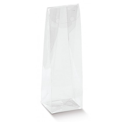 Rámeček bílé kuličky pro 1 láhev s oknem