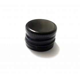 Şapcă neagră-sticle