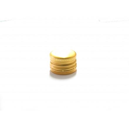 Tapón roscado dorado