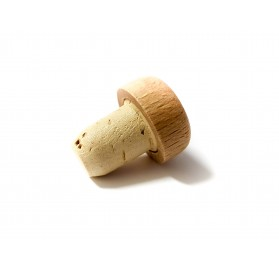 Cápsula madeira miniatura 40-50ml