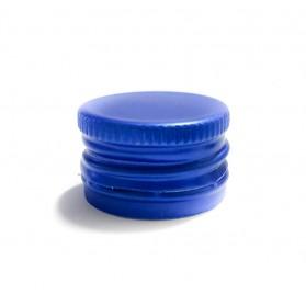 Tampa roscada azul garrafas