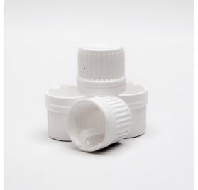 PP18 plastic dopje met druppelaar