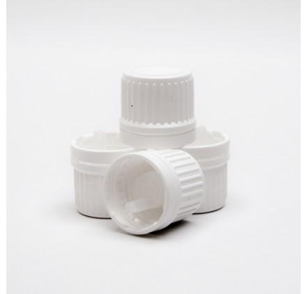 Couvercle en plastique PP18 avec compte-gouttes