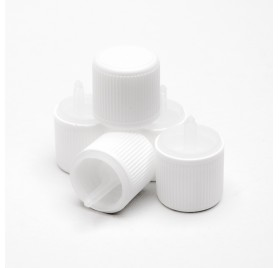 Capacul de plastic PP18 cu picurător şi securizate