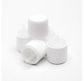 Couvercle en plastique PP18 avec compte-gouttes et sécurité enfants