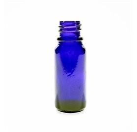 Frasco azul para laboratório 10ml