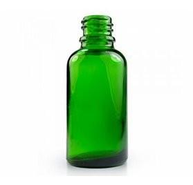 grön flaska för 30 ml lab