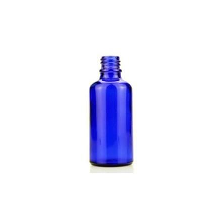 Blå flaske til 50ml lab