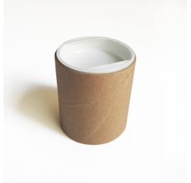 Caixa redonda para chá