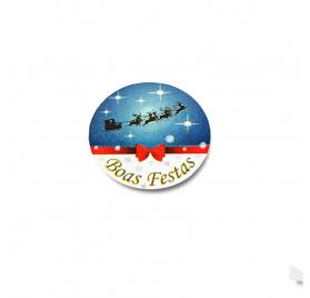Etiqueta de Natal 5