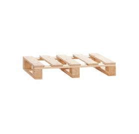 Palets de madera dos entradas