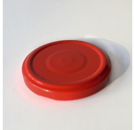 Couverture Métallique Rouge