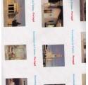 papírové čistě bílý obal fotky