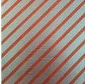 paper red verjurado natural kraft wrapping silver streak