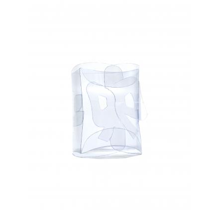 boîte de boules blanches de dentelle 70x60x30mm