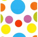 plain white wrapping paper various colors balls