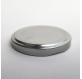 капак сребърен метал