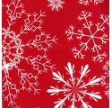 red snow plain wrapping paper