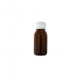 Breit-Mund Flasche 60 ml Bernstein