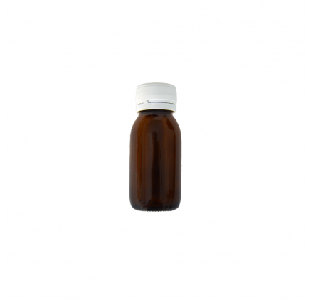 Amber Flask 60ml Wide Opening