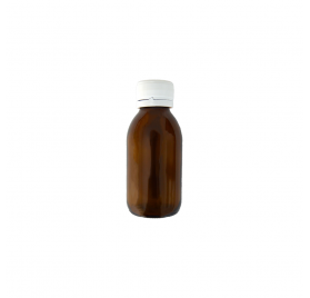Amber Flask 100ml Wide Opening