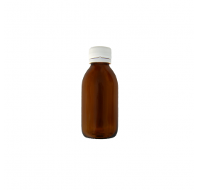 Amber Flask 125ml Wide Opening