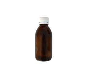Braune Medizinflasche breit 150ml
