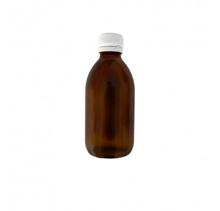 Amber Flask 200ml Wide Opening