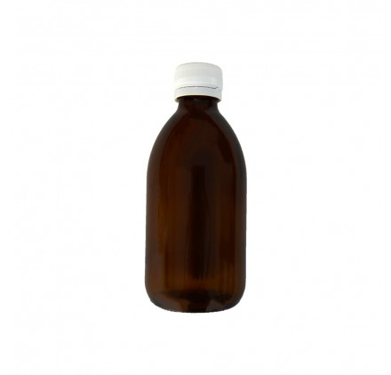 Amber Flask 250ml Wide Opening