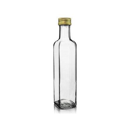 Garrafa vidro Orquidea 250ml