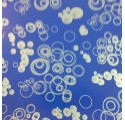 papír sima sötét ezüst golyó kék batyut
