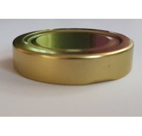 coperchio metallico argento