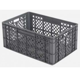Stackable barred box / plug-series 9000 (600x400x200mm) 35L