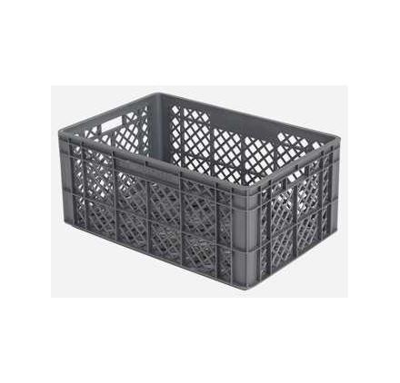 Caja de plástico rejada 600x400x200mm - serie 900