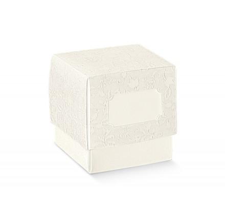 FLEUR harmony bianco 50x50x50