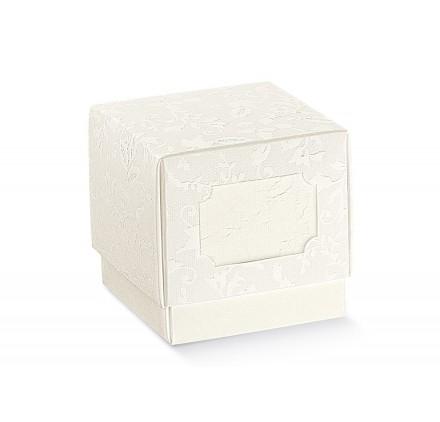 FLEUR harmony bianco 70x70x70