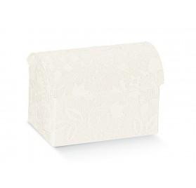 COFANETTO harmony bianco 70x45x52